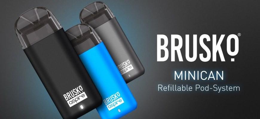 Электронная сигарета Brusko Minican