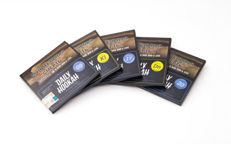 Упаковка табака