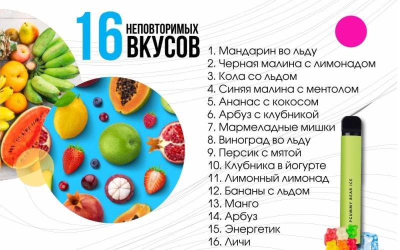 16 неповторимых вкусов