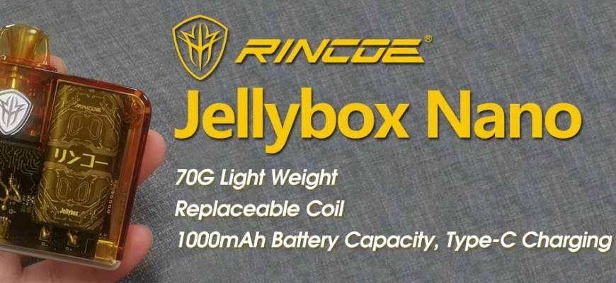 Электронная сигарета Rincoe Jellybox Nano