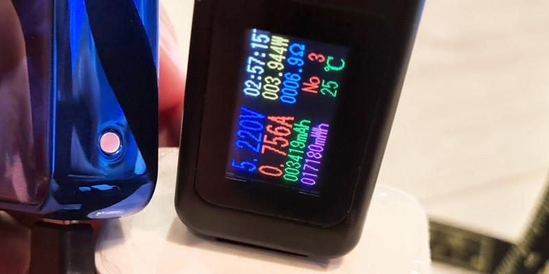 Экран на устройстве